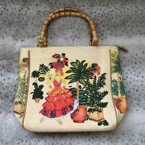 Braciano Bamboo Handle Bag